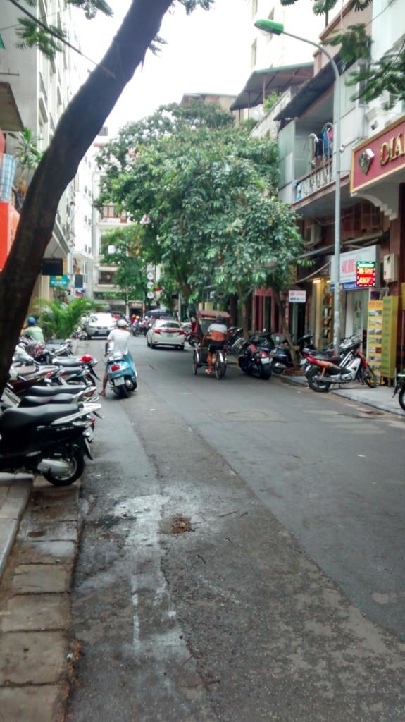 In Hanoi - the French Quarter
