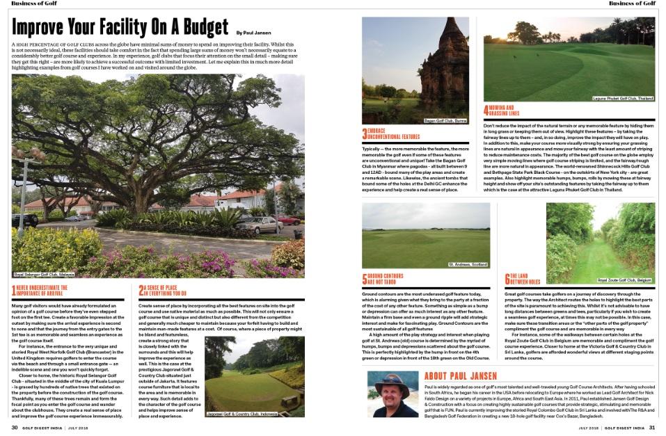India Golf Digest 1